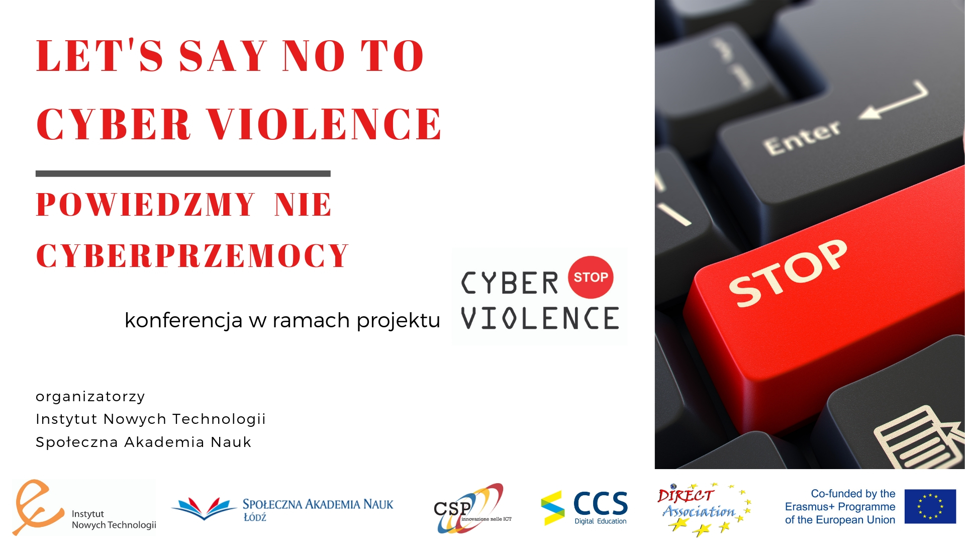 """cyber violence_Conference """"Let's Say No To Cyber Violence"""" and the Third Partners Meeting in ..."""